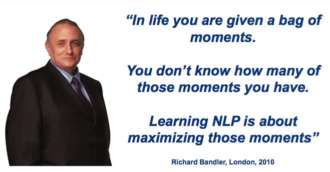 Richard Bandler Hypnotic Language Patterns - Your Life ...
